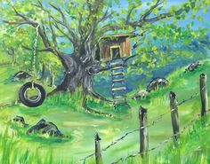 Tree House on the Hill