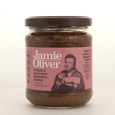 Jamie Oliver'dan Domates Ve Siyah Zeytinli Bruschetta Tam Penne arabiata yapmalık bir sos =)