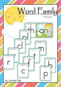 Word Families - Flip Books (Short Vowel)