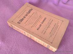 EL LIBRO DE LOS ESPIRITUS, ALLAN KARDEC 1913