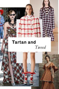 The Biggest Trends of the Resort 2017 Collections | Resort isn't all florals and beachy hues; typically autumnal fabrics like plaid and natty tweeds find a whole new life for warmer weather.