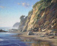 "Pacific Cliffs, oil 16 X 20"" by Matt Smith"