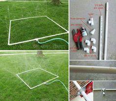 Easy cheap sprinkler