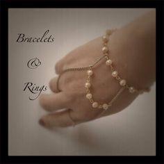 Bracelets & rings Ring Bracelet, Bracelets, Rings, Jewelry, Jewlery, Jewerly, Ring, Schmuck, Jewelry Rings