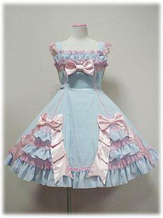 angelic pretty リボンデコレーションジャンパースカート