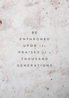 """Be Enthroned // Jeremy Riddle // From the album """"Have It All"""""""