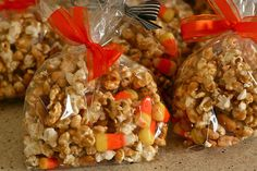 I've made this caramel corn. It's super easy and tastes amazing.
