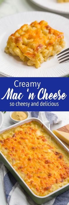 Creamy Mac and Cheese Casserole Creamy Mac and cheese casserole<br> Casserole is perfect for all occasions. With thick and creamy cheese sauce, and a topping made of.you guessed it--cheese, it is sure to be a hit. Oven Mac And Cheese, Mac And Cheese Casserole, Best Macaroni And Cheese, Creamy Mac And Cheese, Mac And Cheese Homemade, Casserole Recipes, Pasta Recipes, Cooking Recipes, Cheese Recipes