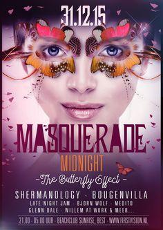 THU DEC 31ST 2015 | NYE | Masquerade Midnight | Beachclub Sunrise BEST NL | www.firstvision.nl