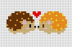 MINECRAFT PIXEL ART – One of the most convenient methods to obtain your imaginative juices flowing in Minecraft is pixel art. Pixel art makes use of various blocks in Minecraft to develop pic… Hedgehog Cross Stitch, Mini Cross Stitch, Cross Stitch Cards, Cross Stitch Animals, Cross Stitching, Cross Stitch Embroidery, Embroidery Patterns, Pokemon Cross Stitch, Cross Stitch Heart
