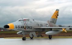 F-100D Super Sabre Migthy, powerful, endurable... A beauty to work on in every respect.