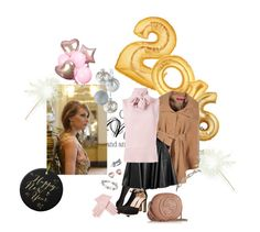 """Happy 2016"" by sheilakaroline ❤ liked on Polyvore featuring Juicy Couture, Betsey Johnson, Boohoo, Forever 21, Valentino, Chalayan, Buscarlet, Gucci, 2016 and happynewyear"