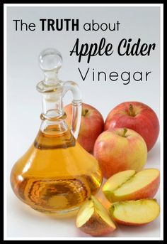The Truth about Apple Cider Vinegar. Tips and more about apple cider vinegar. How to use it and what to use it for from tipsaholic.com #applecider #vinegar
