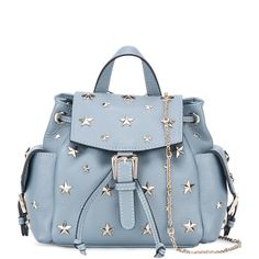Red Valentino star studded backpack (19,600 MXN) ❤ liked on Polyvore featuring bags, backpacks, blue, blue bag, blue backpack, daypack bag, studded backpack and star bag