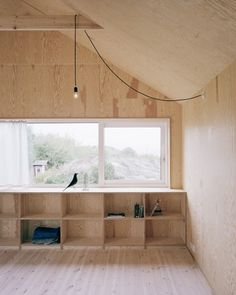 raw exposed tone color small house interior