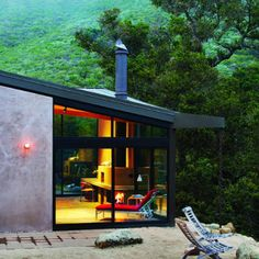 Surf shack in the woods - Cabin Decorating Ideas - Sunset