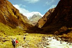 Annapurna trek, #Nepal I can almost hear the river waters!!!
