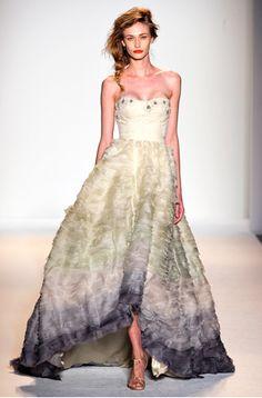 Lela Rose gown
