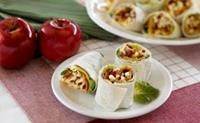 Michigan Apple Recipes - BLA, Bacon Lettuce Apple Bites