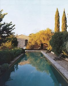 Southern France. pool reminds me of Good Year movie with Russell Crowe.