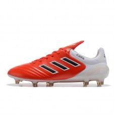 buy popular 88f40 845c2 Billige Fodboldstøvler Tilbud - Billig 2017 Adidas Copa 17.1 FG Rød Hvid  Fodboldstøvler