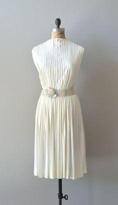 white 1960s dress