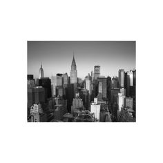 Chrysler Building and Midtown Manhattan Skyline, New York City, USA... (56 CAD) ❤ liked on Polyvore featuring home, home decor, wall art, new york city wall art, new york city poster, photography wall art, photography posters and new york city skyline wall art