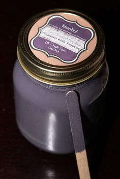 """Istanbul"" DIY Chalk Paint A rich purple inspired by Istanbul at night (Pigments With Purpose) Paint Line, Painting Tips, Chalk Paint, Istanbul, Purpose, Homemade, Inspired, Night, Diy"