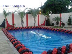 Pool Balloon Border