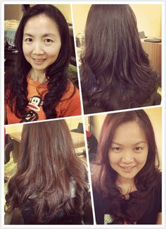 HOT PERM to create natural wavy and easy managed volumes hair styles!   By Mongoloid Hair Art  #softtexture #naturalcurls #silky #smooth #mongoloidhairart #oug #malaysia