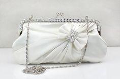 Bridal clutch purse