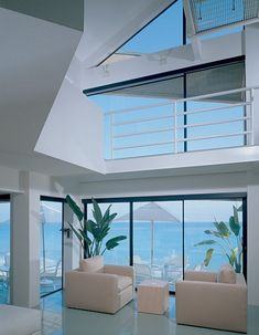 Beautiful Modern Architectural View, Beach House.
