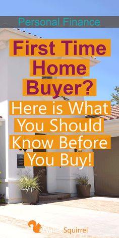 Looking to buy your first home? Before you do, here is what you should know before you buy! Learn from these personal experiences. #personalfinance #housegoals #firsthome