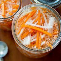 Vietnamese Pickles Carrots & Daikon , My Family Recipe