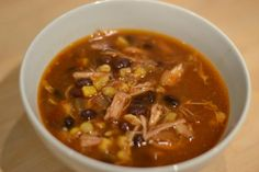 Sweet & Spicy Pork Chili.  Has those really savory Asian flavors.