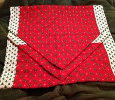 Holiday Table Runner Christmas Table Runner by PDXHandmadeVintage, $20.00