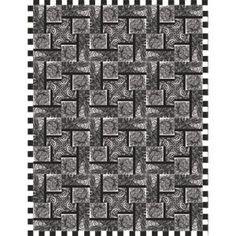 Fountain Pen quilt - free pattern from Quilt Trends