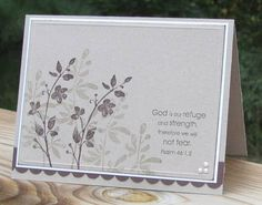 God is Our Refuge and Strength Handmade by ScrappinSassyDesigns ...