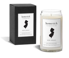 A cozy candle that smells like the Jersey shore and long drives/walks along the boardwalk.   24 Things For People Who Miss New Jersey