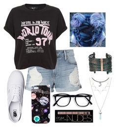 """great day with babe"" by chloe-beth-13 ❤ liked on Polyvore featuring Vans, Frame, Nikki Strange, Boutique+ and Charlotte Russe"