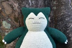 12 Free Pokemon Go Amigurumi Crochet Patterns Hi, my dear amigurumi lovers! 🙂 It's time for a new pattern! 😀 This time I've been working on a gift for my brother in law, who loves pokemon and asked me if I could do a Snorlax for … Pokemon Go, Pokemon Snorlax, Baby Pokemon, Crochet Dragon Pattern, Pokemon Crochet Pattern, Crochet Patterns Amigurumi, Knitting Patterns, Pokemon Blanket, Crochet Baby Blanket Beginner