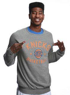 Iman Shumpert in New York Knicks BUTLER Sweatshirt By Sportiqe Apparel