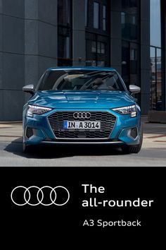 The Audi A3 Sportback is the ideal companion. The best parts of your sporty best friend, tech-savvy co-worker and stylish neighbour all roled into one. #Audi #AudiA3 #Sportback Audi A3 Sportback, Iron Man Hulkbuster, Best Friends, Tech, Sporty, Stylish, Youtube, Cars, Beat Friends