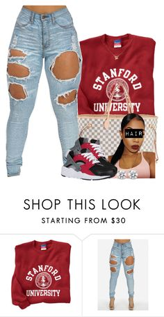"""""""Untitled #435"""" by princess-miyah ❤ liked on Polyvore featuring Louis Vuitton and NIKE"""