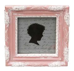 Rustic Looking Pink Photo Frame