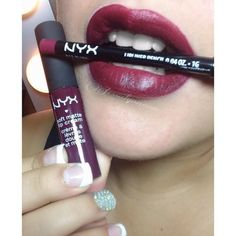 In love with this color!! #nyx #Copenhagen