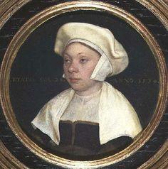 Portrait de Suzanna Horenboult, soeur de Lucas Horenboult, 1534 Hans Holbein
