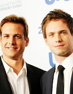 hotties....Patrick J. Adams, gabriel, macht, patrick, adams, suits
