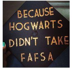 Because Hogwarts didn't take FAFSA. #harrypotter #collegehumor
