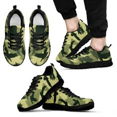 huge selection of 5238a a1850 Eagle-Hawk Camo Sneaker 04 Men and Women